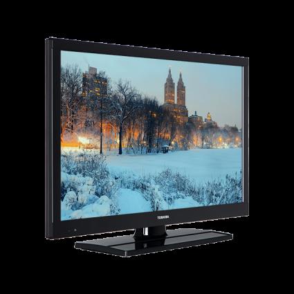 22 Zoll Toshiba Full HD TV Perspective Thumbnail
