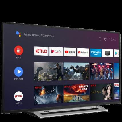 "50"" Toshiba Ultra HD TV Perspective Thumbnail"
