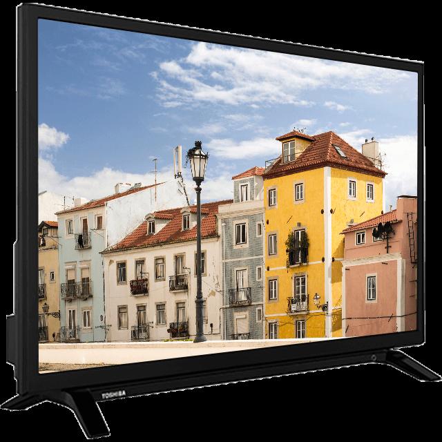 "32"" Toshiba HD Ready DVD TV W29-perspective2"