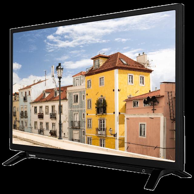 "32"" Toshiba HD Ready DVD TV W29-perspective"